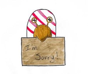 sorry-snail